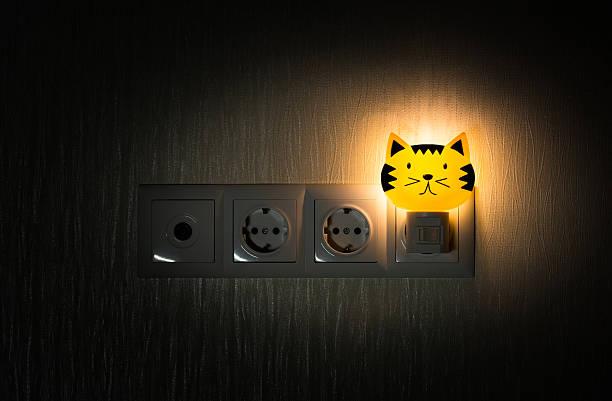 baby-nachtlicht - nachttischleuchte stock-fotos und bilder