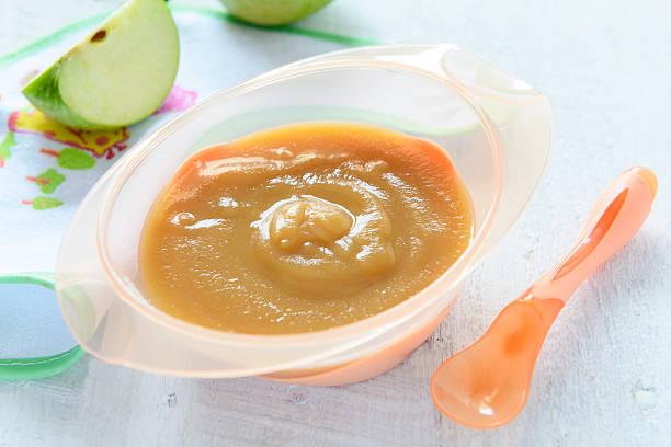 Baby Ernährung: Apfel Püree – Foto