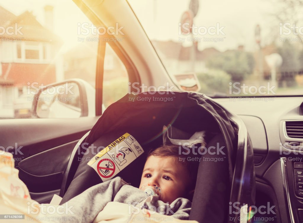 Baby on board royalty-free stock photo