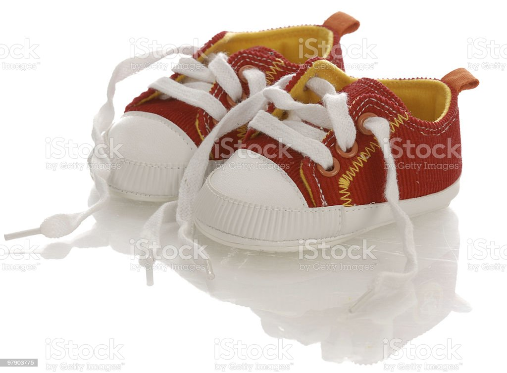 baby or infant shoes royalty-free stock photo