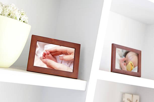 Baby photo stock photo
