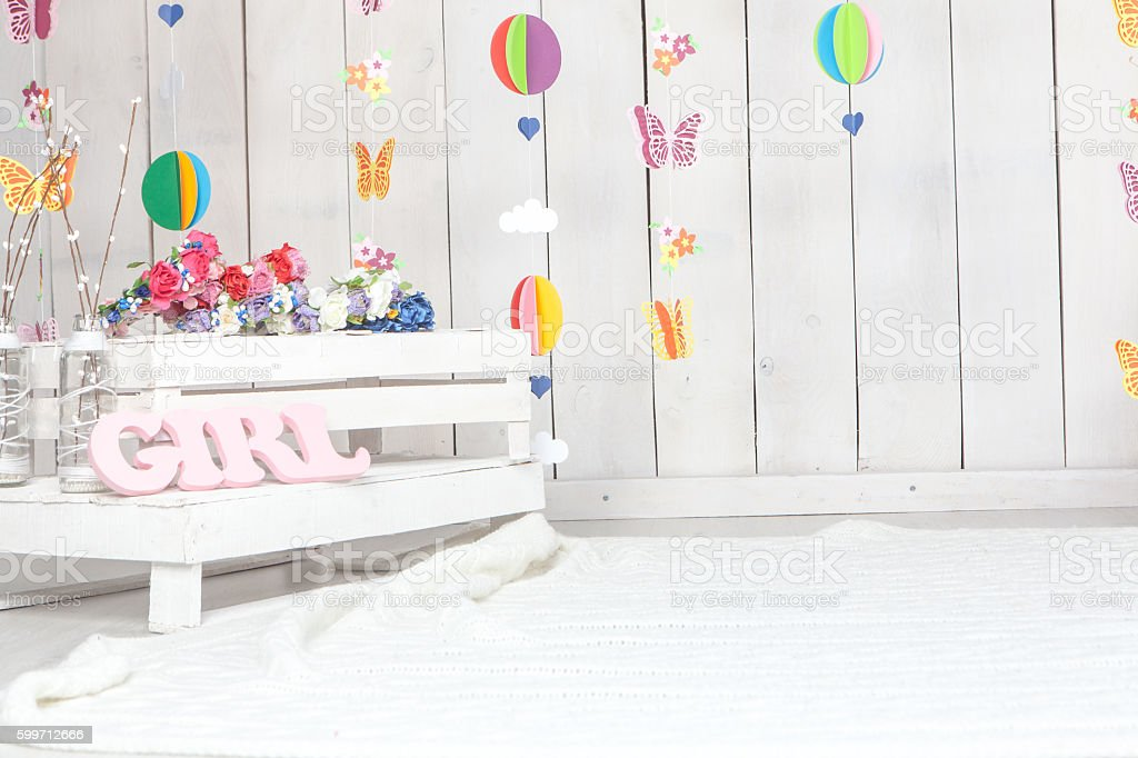 Baby Photography Studio Background Setup Stock Photo Download Image Now Istock