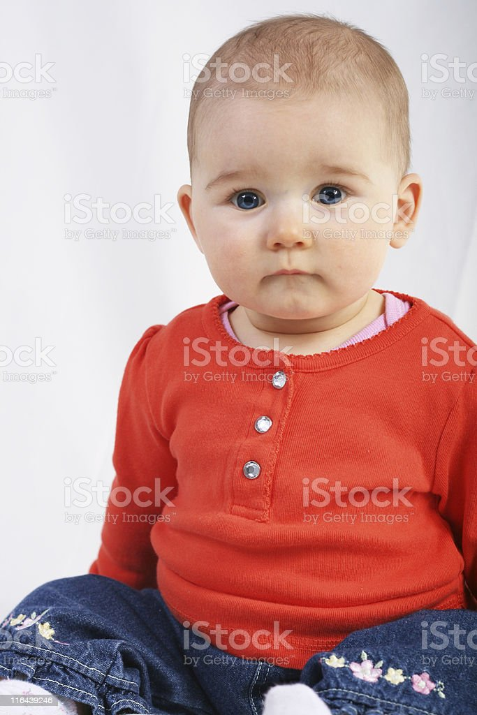 Baby royalty-free stock photo