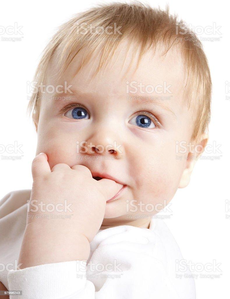 Baby royalty free stockfoto