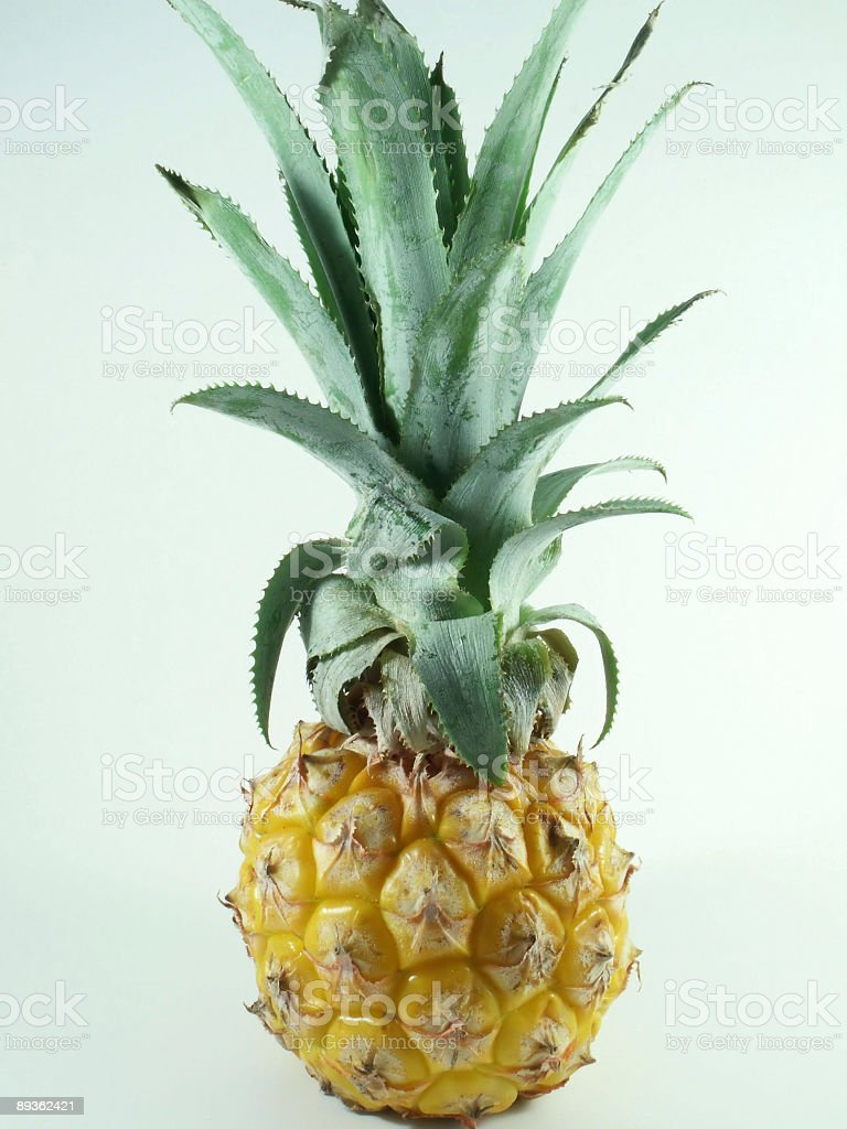 Baby ananas foto stock royalty-free