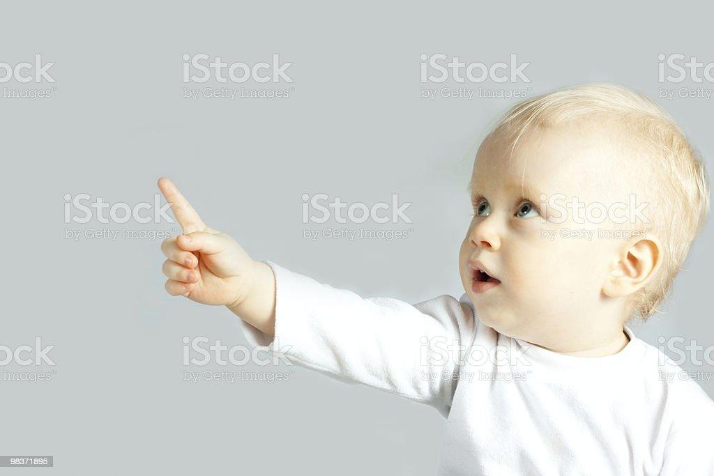 Ritratto di bambino foto stock royalty-free