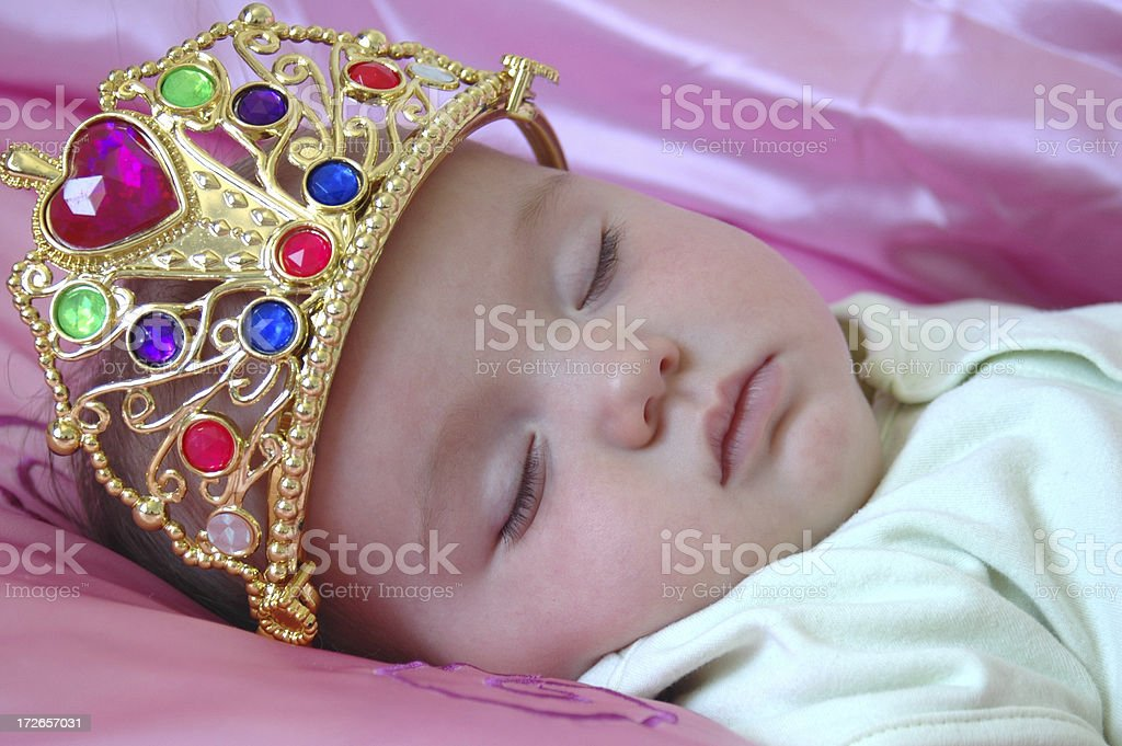 Baby Queen royalty-free stock photo