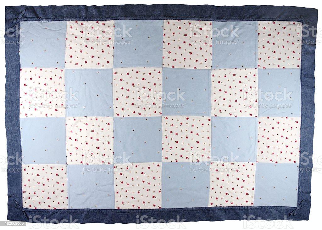 Baby Quilt stock photo