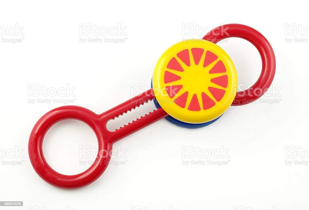 Baby Rattle royalty free stockfoto