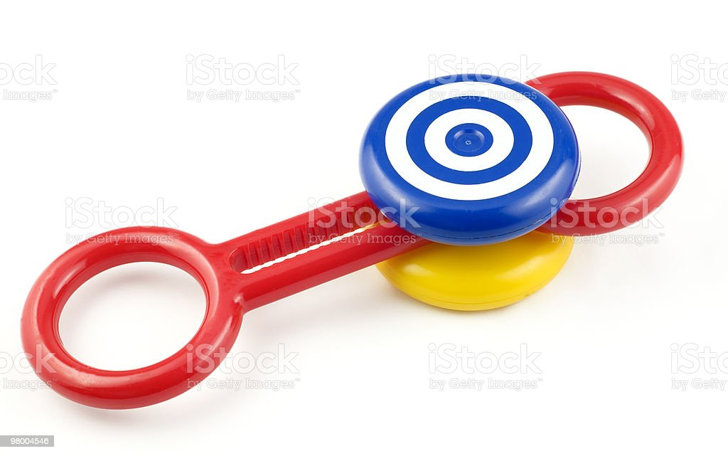 Baby Rattle royalty-free stock photo