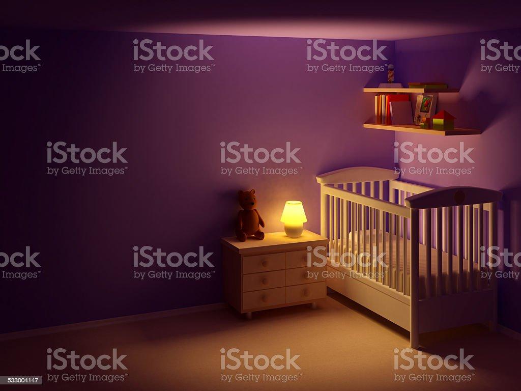 Chá de quarto à noite - foto de acervo