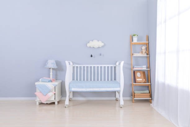 quarto de bebê - mobile - fotografias e filmes do acervo