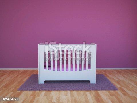 1213866189 istock photo Baby room 185434776