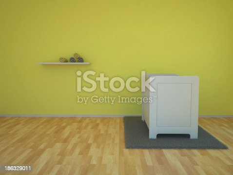 1213866189 istock photo Baby room 186329011