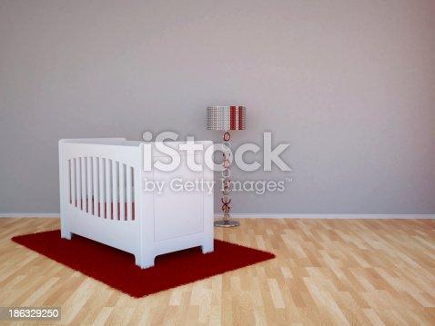 1213866189 istock photo Baby room 186329250