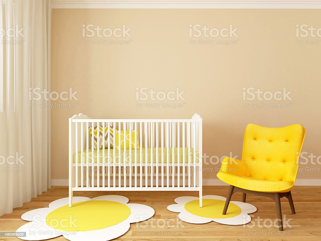 Baby Room Stock Photo & More Pictures of 2015 | iStock