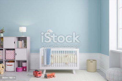 istock Baby Room 959478614
