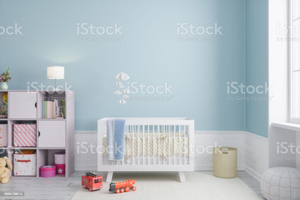 Baby Room stock photo