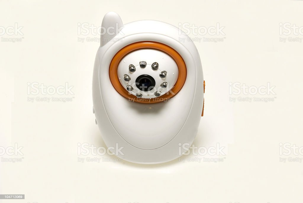 Baby safety monitor stock photo