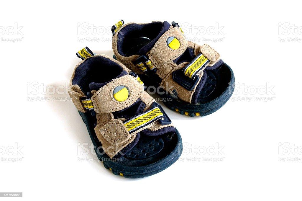 Bebê Sandals - foto de acervo