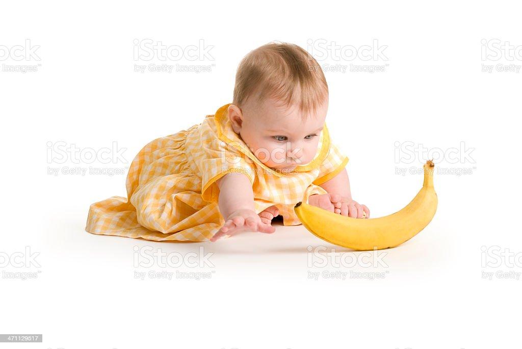 Baby-Serie. banana Zeit – Foto
