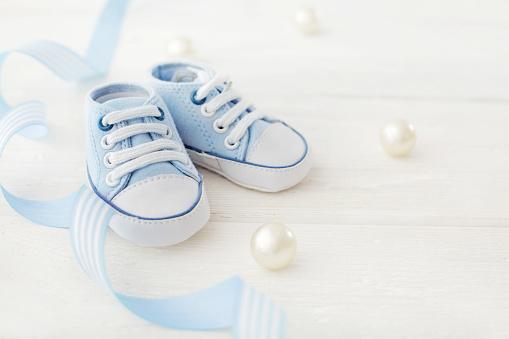 Babyschuhe Stockfoto und mehr Bilder von Baby