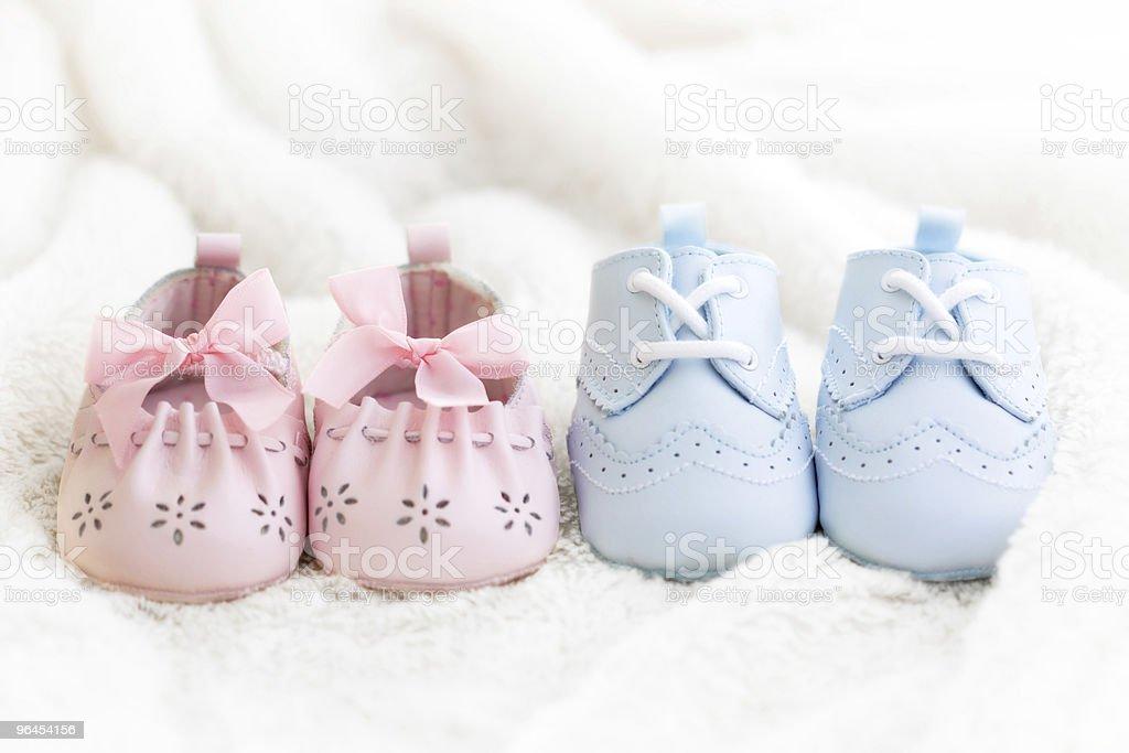 Calçados de bebê - foto de acervo
