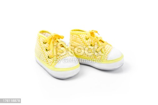 istock Baby Shoes Series 176118878