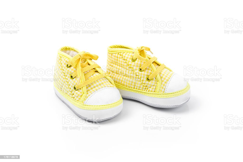 Baby Shoes Series stock photo