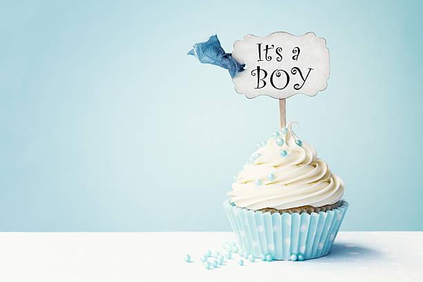 Its A Boy Cupcake Cake
