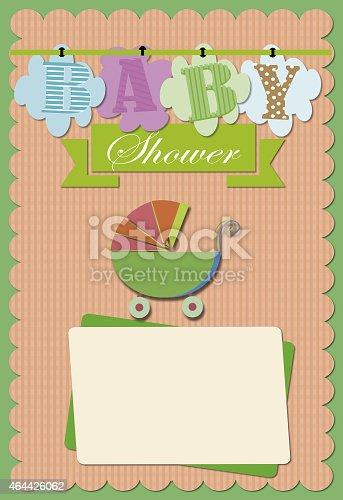 istock Baby Shower Invitation 464426062