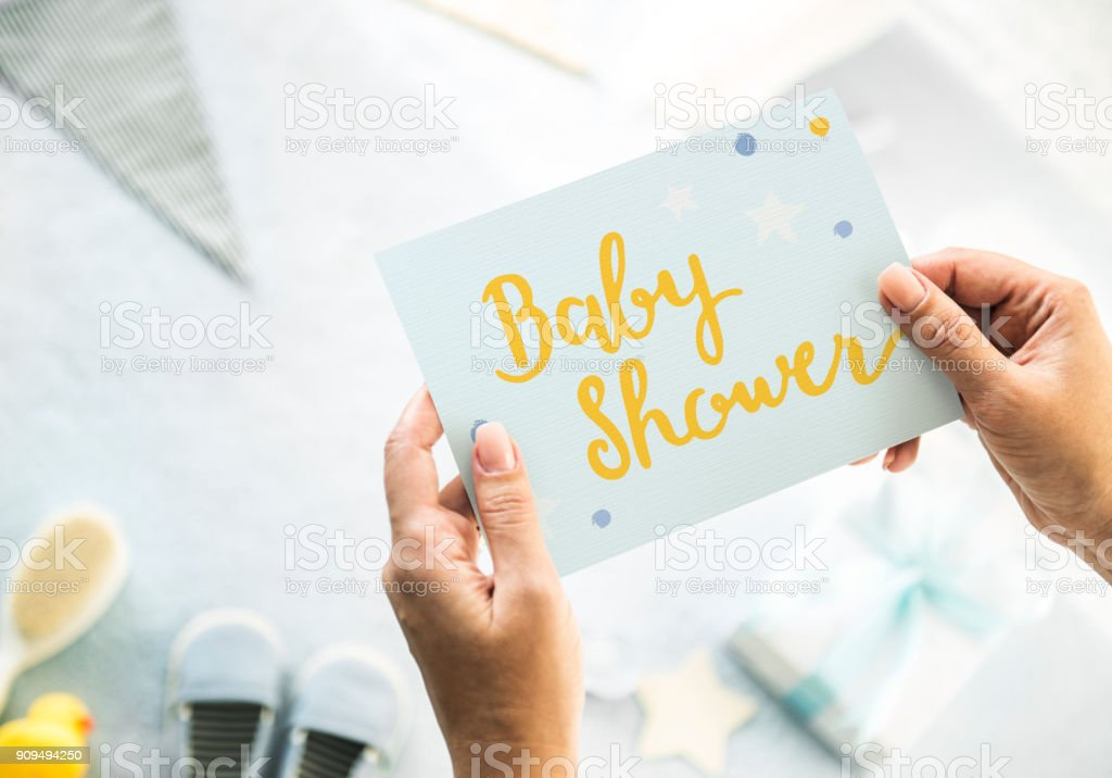Baby Shower stock photo