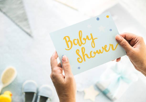fiesta prenatal  - baby shower fotografías e imágenes de stock