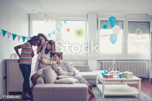 istock Baby showers party 1143934451