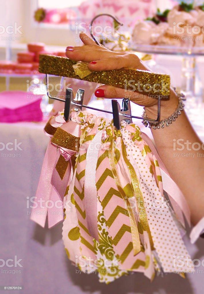 Baby Skirt stock photo
