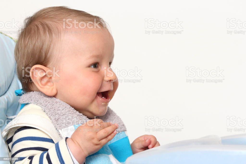 baby Lächeln – Foto