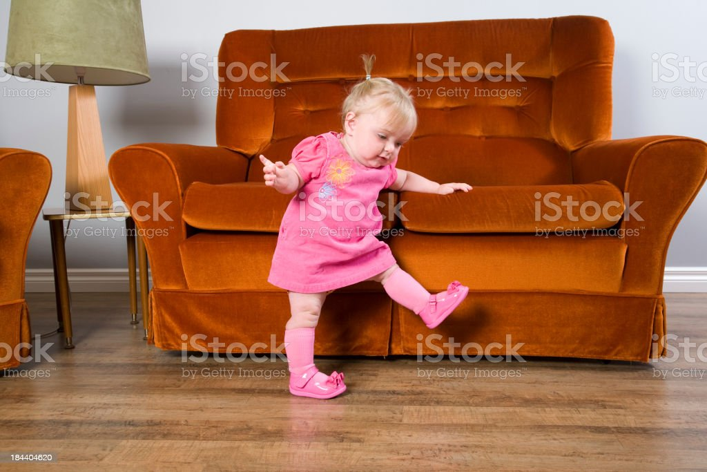 Baby Steps royalty-free stock photo