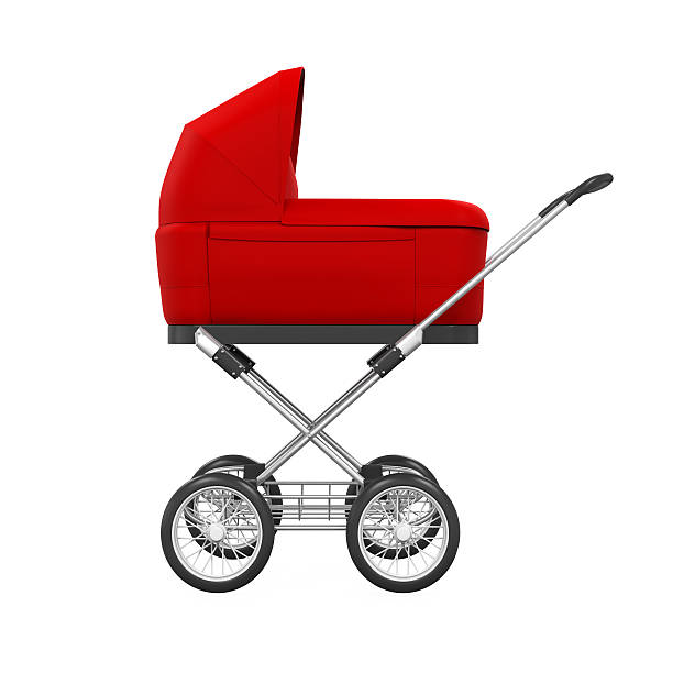 Baby Stroller Isolated stock photo