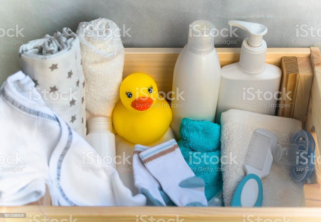 baby stuff stock photo