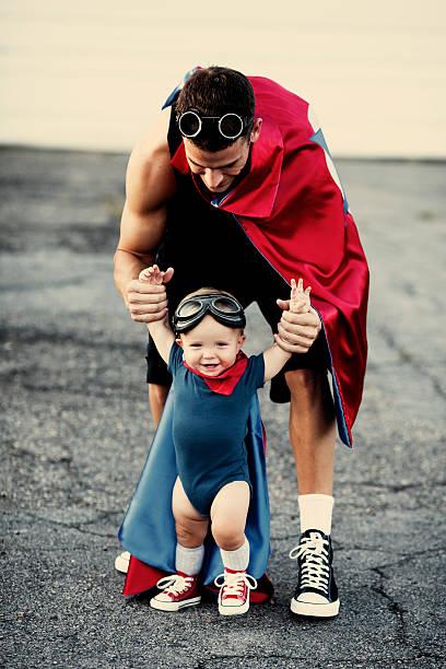 de super-herói - baby super hero imagens e fotografias de stock