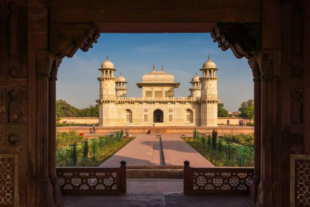 """Baby Taj"" mausoleum in Agra - a draft of the famous Taj Mahal. stock photo"