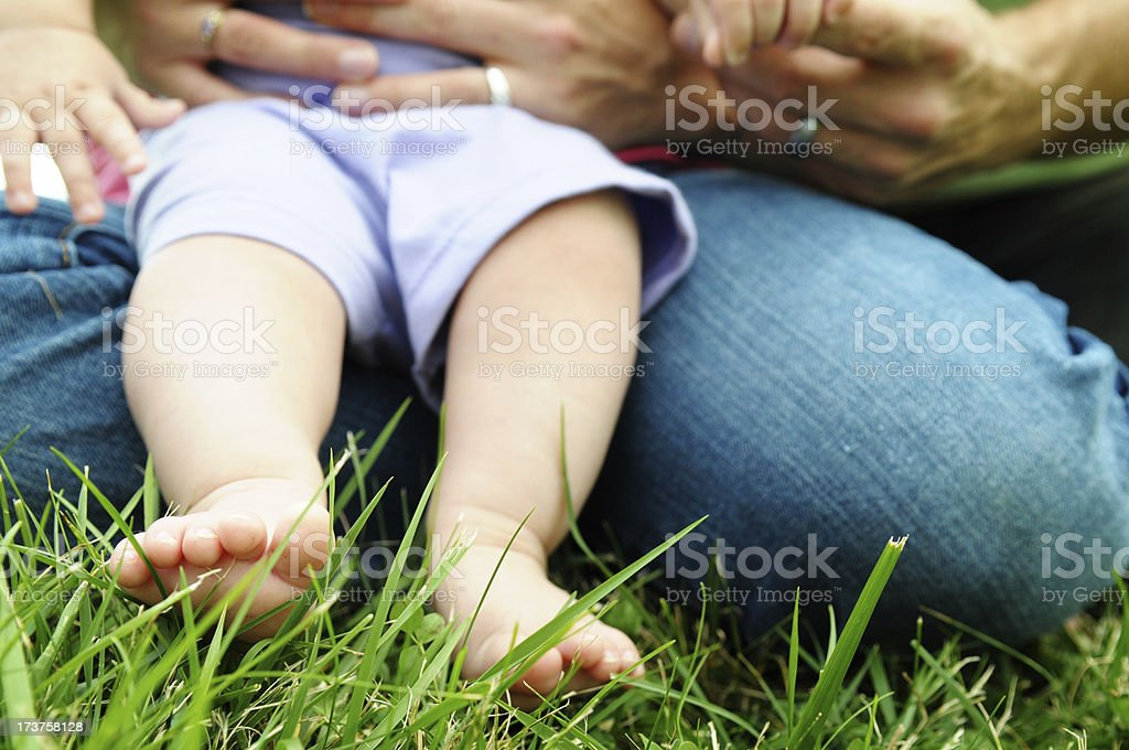 Baby Toes stock photo