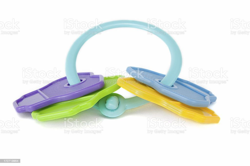 Baby Spielzeugfarbe Schlüsselring Stock-Fotografie und mehr Bilder ...