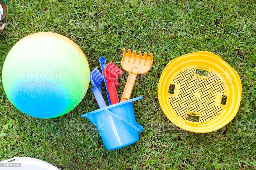 Zabawki dziecka – zdjęcie
