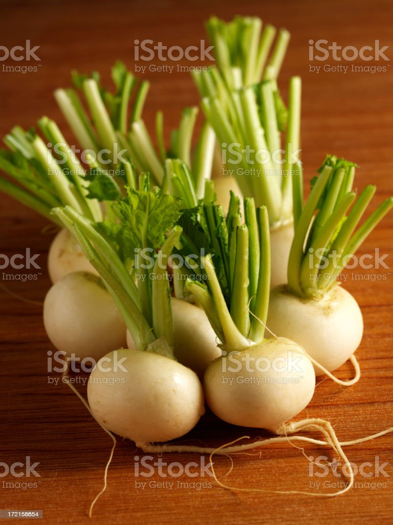 Baby Turnip royalty-free stock photo