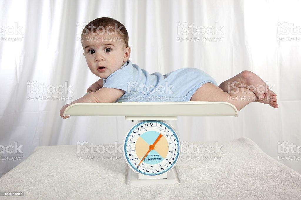 Baby Weight stock photo