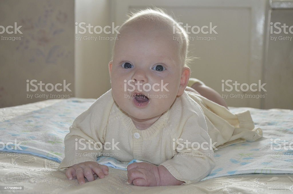 Baby wonders royalty-free stock photo