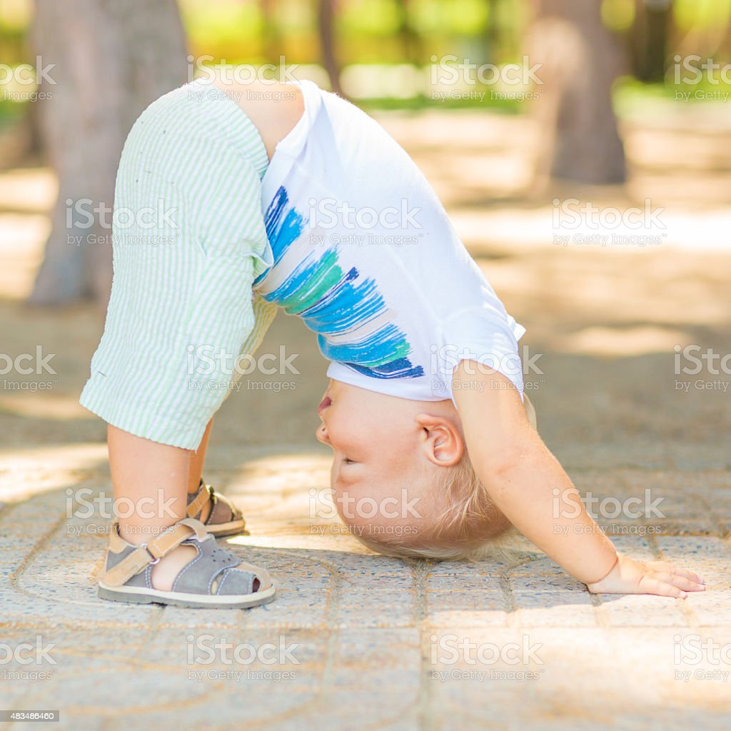 Baby-yoga – Foto