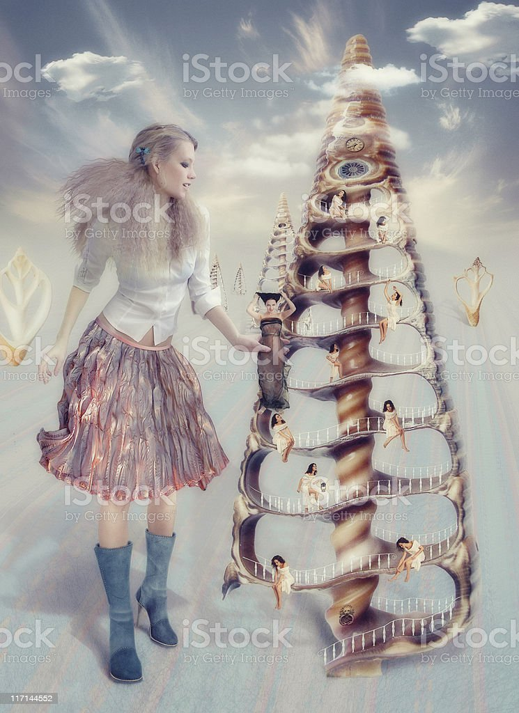 babydoll dreamHause royalty-free stock photo