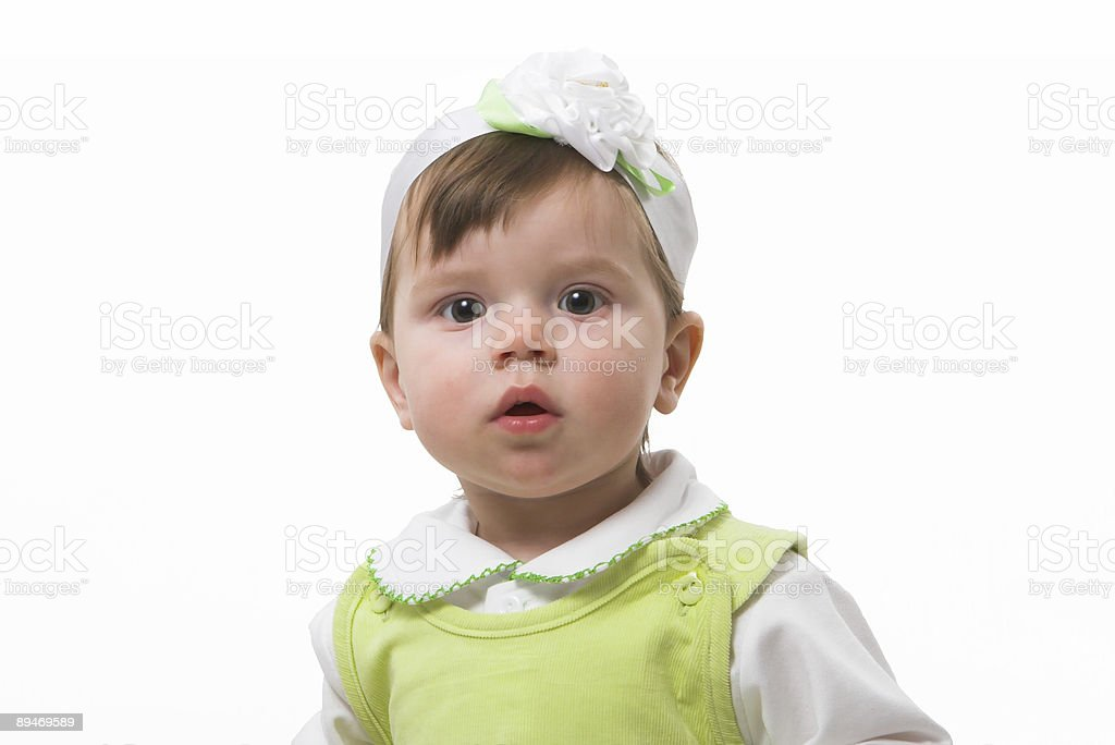 Baby-girl royalty-free stock photo